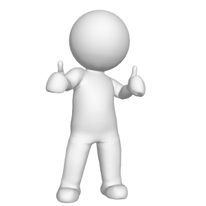 Client multumit reprezentat printr-o animatie care recomanda firma de reparatii termopane